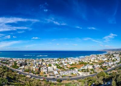 Stalis Crete panoramic view
